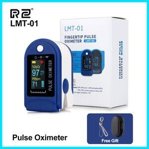 Image 1 - RZ الإصبع نبض مقياس التأكسج أوكسيمترو الدم الأكسجين التشبع متر إصبع SPO2 PR رصد نبض مقياس التأكسج