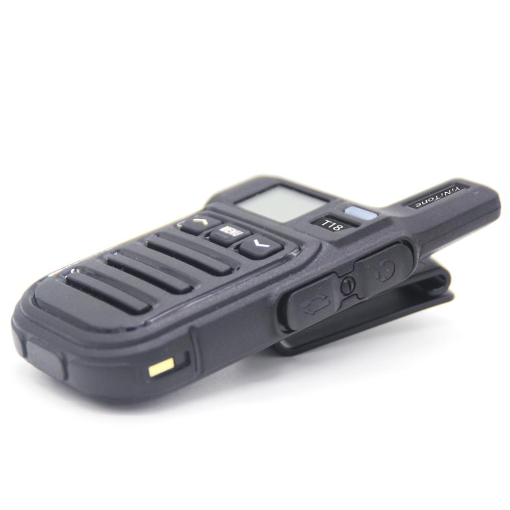 T18 Mini Walkie Talkie With Vibration Function