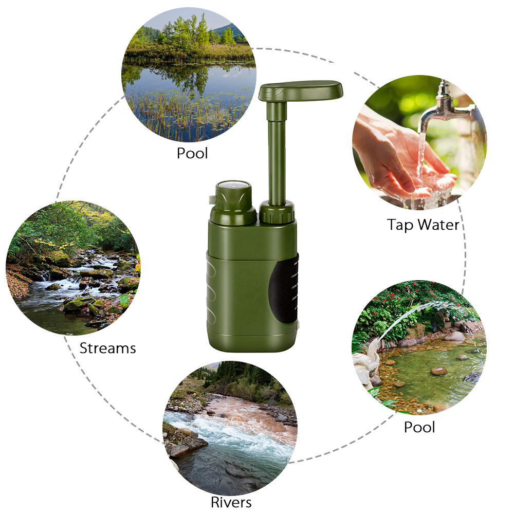 Survival Water Filter Pro 4