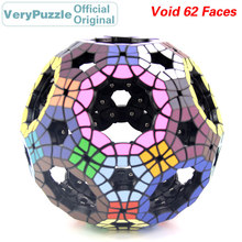 купить Original VeryPuzzle Void Truncated Icosidodecahedron 62 Faces Football Magic Cube Speed Twisty Puzzle Educational Toys For Child по цене 3784.12 рублей