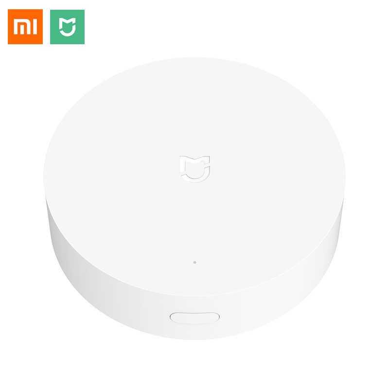 Xiaomi Mijia Smart Multimode Gateway WIFI ZigBee3.0 WiFi Bluetooth/Bluetooth Mesh Werken Met Mijia APP Apple Homekit App Hub