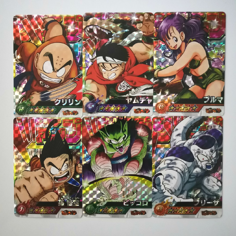 54pcs/set Dragon Ball Z Jump Force Animation Second Bomb Toys Hobbies Hobby Collectibles  Collection Anime Cards Free Shipping