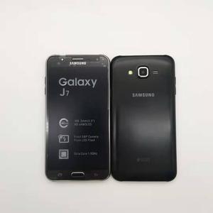 Image 3 - Samsung Galaxy J7 débloqué, téléphone portable 5,5 pouces, 1,5 Go ROM, 16 Go, double Sim, GSM 4G LTE, Android, Octa Core, remis à neuf