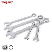Hi-Spec 5 Pieces Combination Wrench Set 7 10 13 17 19 Universal Torque Wrench Spanner Set A Set Of Keys Gear Ring Wrench WR024 цена и фото