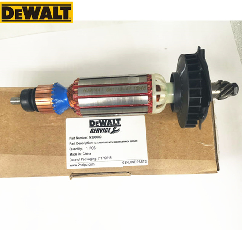 AC220-240V Motor Engine Rotor 637075-00 N398000  D28132 D28135 D28136 D28137 D28132C For DeWALT