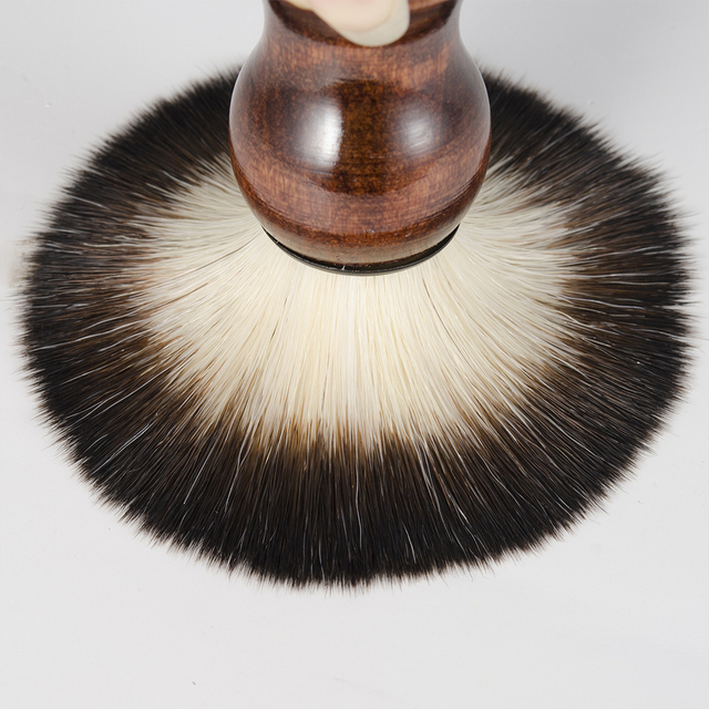 Men's Manual Beard Care Set Facial Care Wood Shaving Kit Beard Brush Home Bathroom Grooming Tool 6