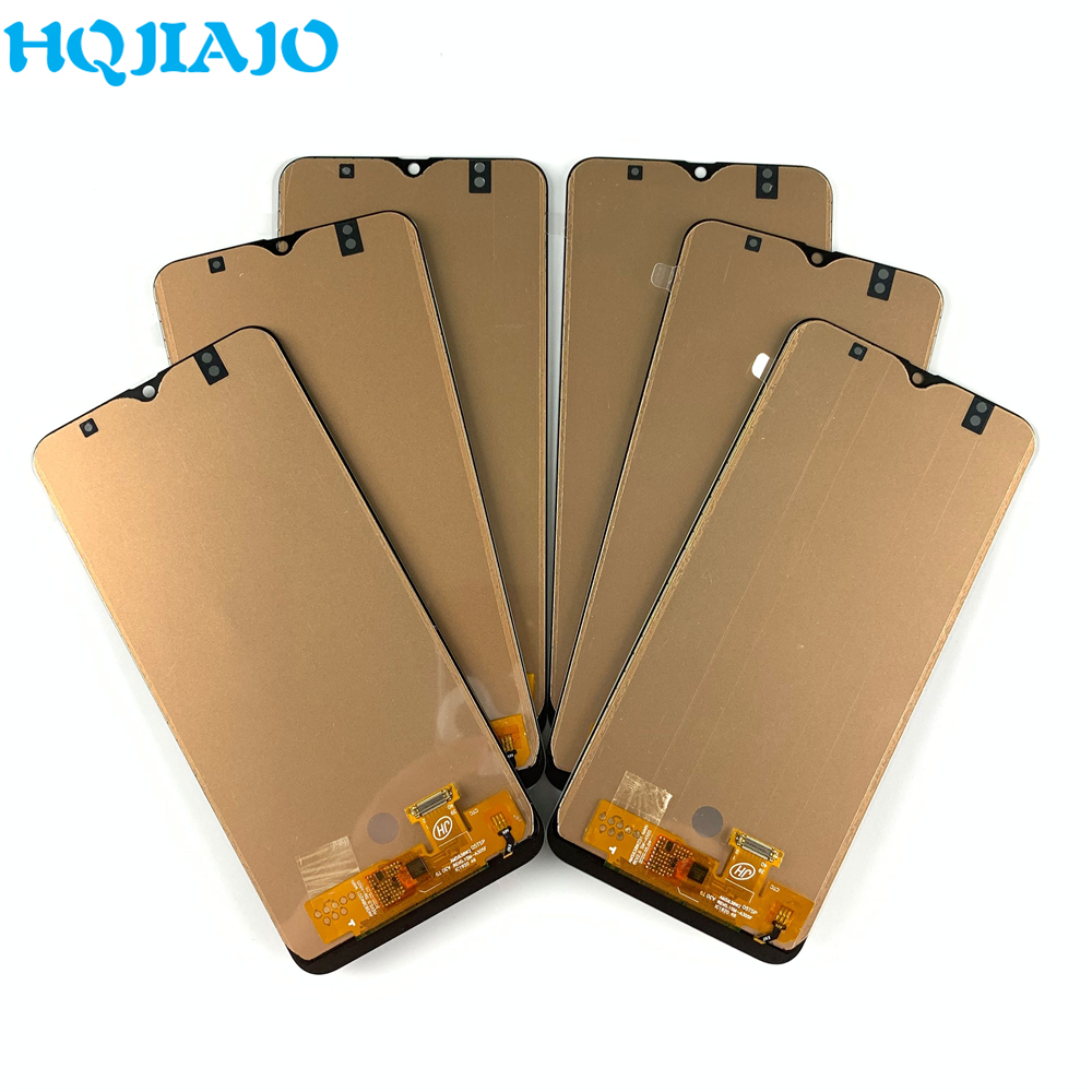 5PCS TFT <font><b>LCD</b></font> For <font><b>Samsung</b></font> Galaxy A30 A305/DS A305F <font><b>A50</b></font> A505F A505/DS <font><b>LCD</b></font> Touch Screen Display Digitizer Assembly No finger image