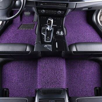 Custom car floor mat for JEEP Wrangler jk Compass Renegade Patriot Cherokee Liberty Grand Cherokee Commander car accessories