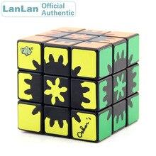 LanLan Hidden Inside Inner Gear 3x3x3 Magic Cube 3x3 Cubo Magico Professional Neo Speed Puzzle Antistress Fidget Educational Toy