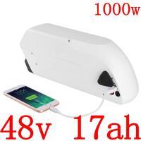 Bateria elétrica 48 v 10ah 13ah 17ah do lg do uso da bateria de lítio com carregador 2a bateria 48 v 500 w 750 w 1000 w ebike 48 v 17ah