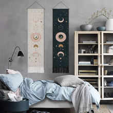 1 шт гобелен с фазами Луны для домашнего декора меняющий лунное