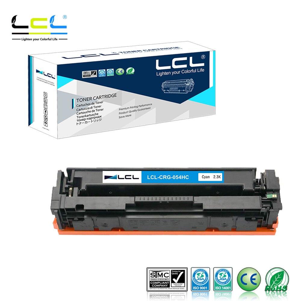 LCL 054 054H CRG-054 CRG-054H 3028C001 3027C001 3028C002 3027C002 (4-Pack KCMY) Тонер-картридж совместимый для Canon i-SENS