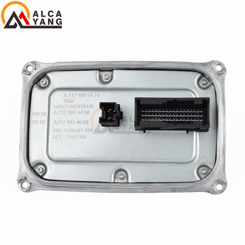 New For Benz CLS E-Class 14-16 W212 S212 LED Main Control Unit DRL Module Replacement A2129005424