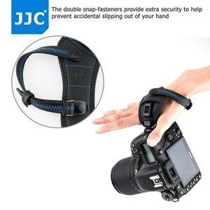 "Image 2 - JJC Deluxe מצלמה יד גריפ רצועת יד עבור Sony ניקון Canon פוג י Panasonic אולימפוס עם 1/4 "" 20 חצובה שקע עבור DSLR"