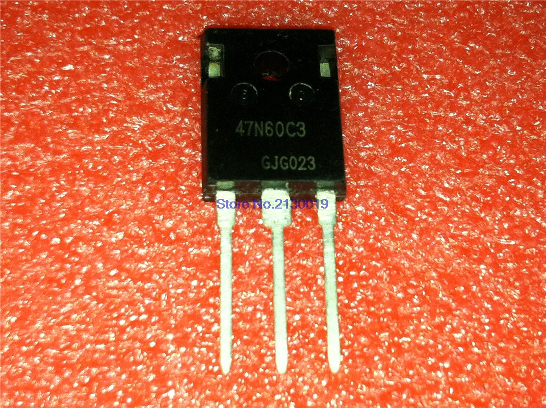 10pcs/lot 47N60C3 SPW47N60C3 INF TO-247 47A600V New Original In Stock