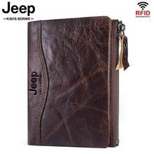 Billeteras de cuero genuino para hombre, gran oferta, monedero corto, tarjetero pequeño Vintage para hombre, diseño de calidad, bolsa de dinero suave