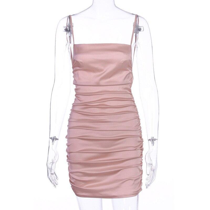 mini satin dress18