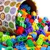 Bloques de construcción de Micro diamante para niños, 500/1000 Uds., 8x8mm, creativo, ladrillos pequeños, modelo, figuras, juguetes educativos para niños, regalos