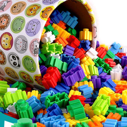 500/1000Pcs Micro Diamond Building Blocks 8*8mm DIY Creative Small Bricks Model Figures Educational Toys For Children Kids Gifts