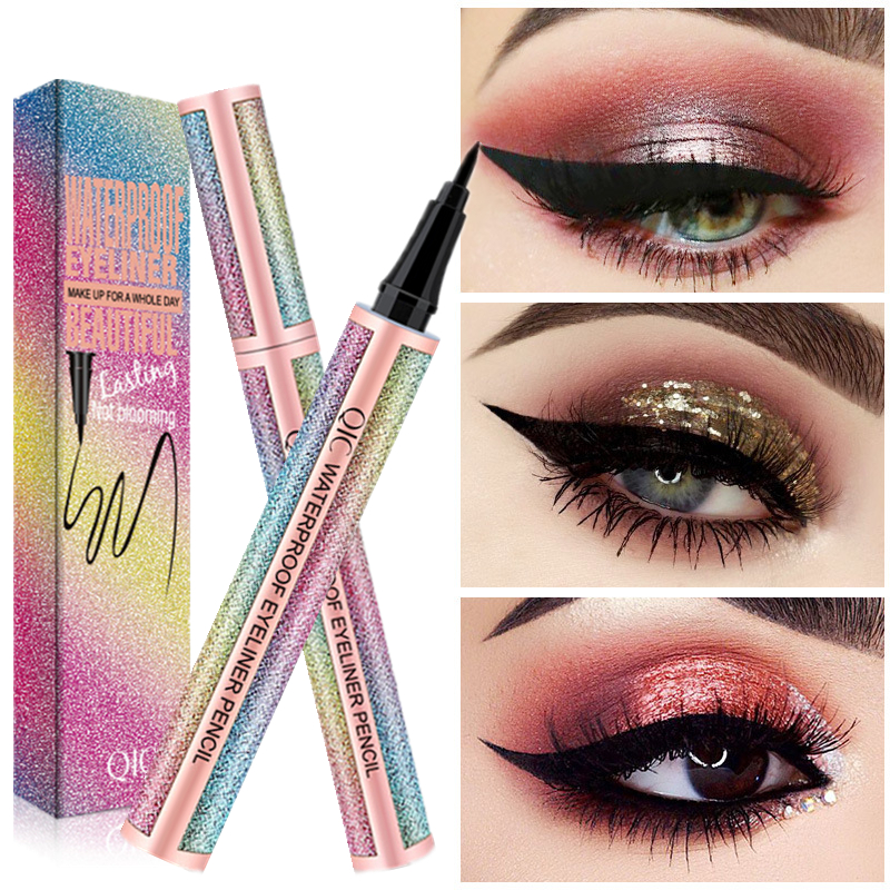 Quick-drying Star Eyeliner Star Making Black Waterproof Lasting Natural Eyeliner High Quality Makeup Beauty