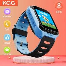 купить GPS Camera Baby Kids SmartWatch with Touch Screen Camera GPS Tracker Smart watch children Monitor SOS for Baby PK Q50 q90 онлайн