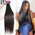 30, 40 дюймов, прямые бразильские человеческие волосы, плетение, пучок 3, 4 пряди, необработанные натуральные волосы Remy, индийские пряди, оптова...