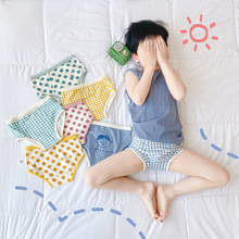 New Arrival Babe Underwear Shorts Cute Boy and Girls Plaid and Point PP Shorts