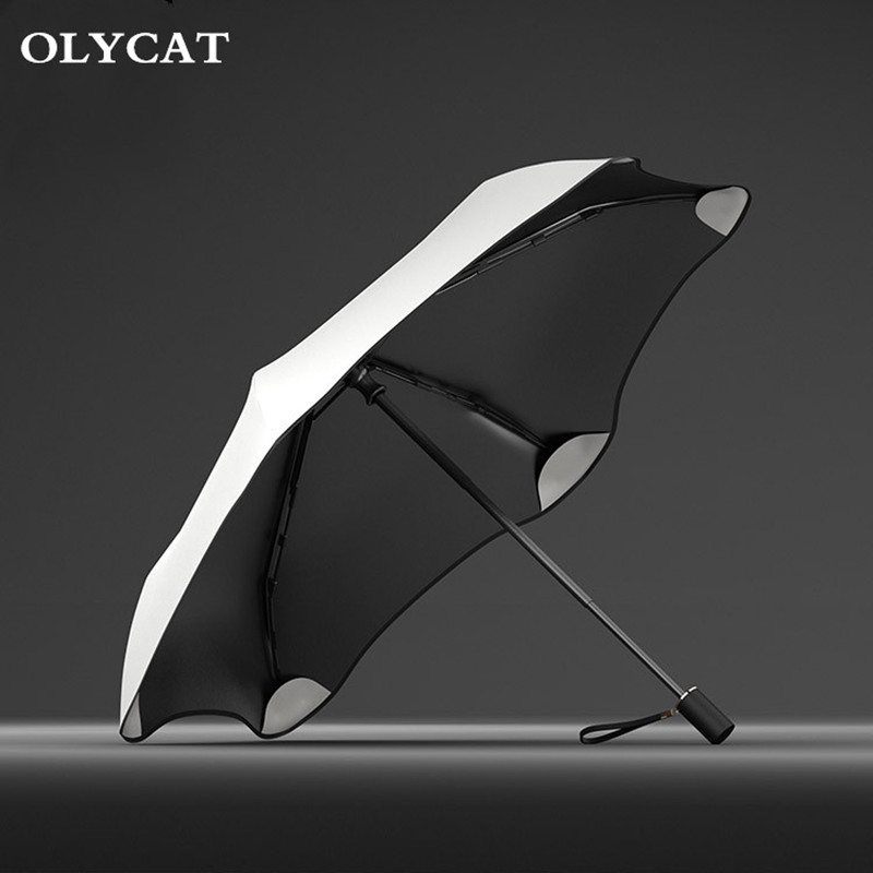 Pattern Of Sea Creatures fashion print cute Windproof automatic tri-fold umbrella sun UV protection Sun umbrella