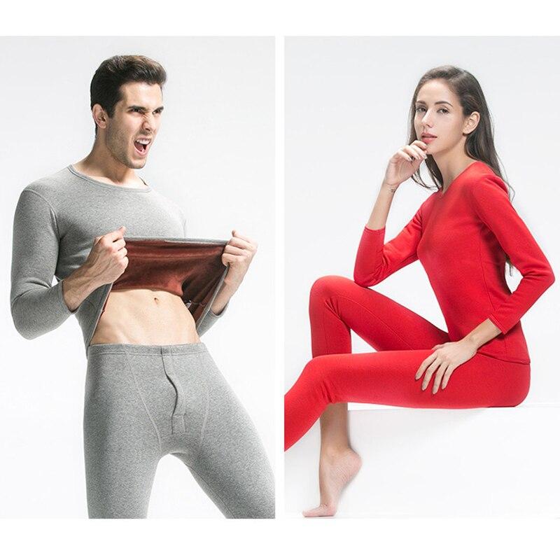 Aismz термобелье наборы для мужчин зимнее термобелье кальсоны зимние мужские и женские бархатные толстые термобелье однотонная
