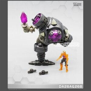 Image 2 - MFT Transformation planète perdue puissance costume DA23 DA24 DA26AB 4in1 diacalone figurine Robot jouets