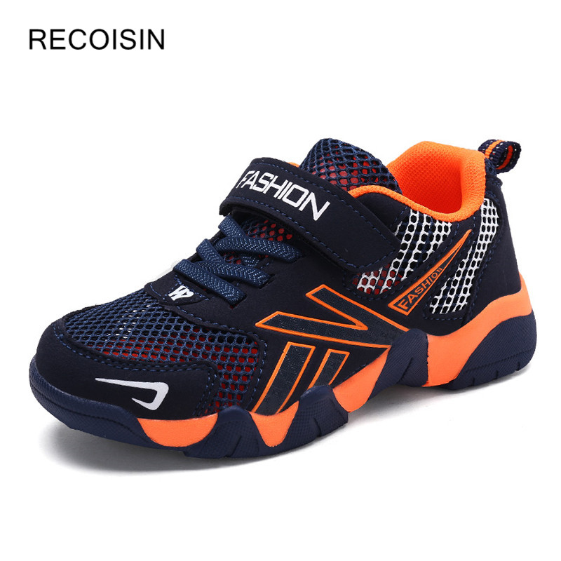 Summer Quality Kids Sneaker Boys Shoes Girl Toddler Casual Sport Running Breathable Mesh Shoe Velcro Fashion Footwear