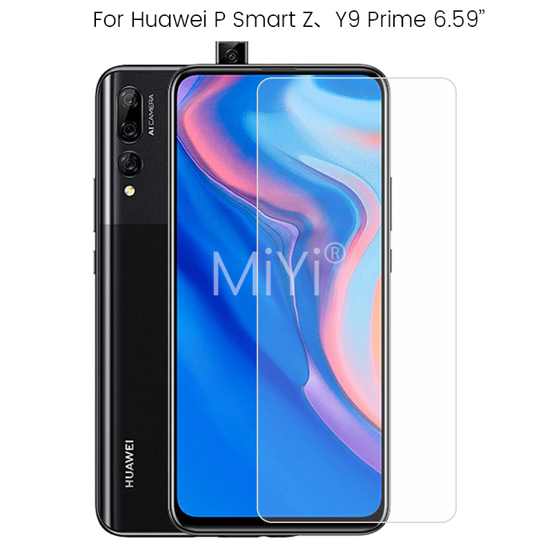 Protective Glass For Huawei P Smart Z Screen Protector On Hauwei PSmart Z PSmartZ P SmartZ STK-LX1,LX3 Y9Prime Y9 Prime 2019