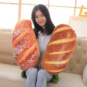 Cushion Simulate Bread-Model Butter Stuffed-Doll-Back Food-Plush-Pillow Home-Decor Snack-Decoration