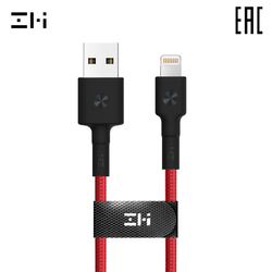 Kabel ZMI AL803 Lightning USB-A kabel voor smartphone 100 cm Voor Apple iPod/iPhone/iPad levering uit Rusland
