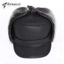 Fibonacci High Quality Cold Proof Warmth Retention Men Bomber Hats
