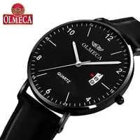 OLMECA horloge de luxe échantillon Quartz femmes montres étanche lumineux mains Montre-bracelet Saat Montre bracelet en maille