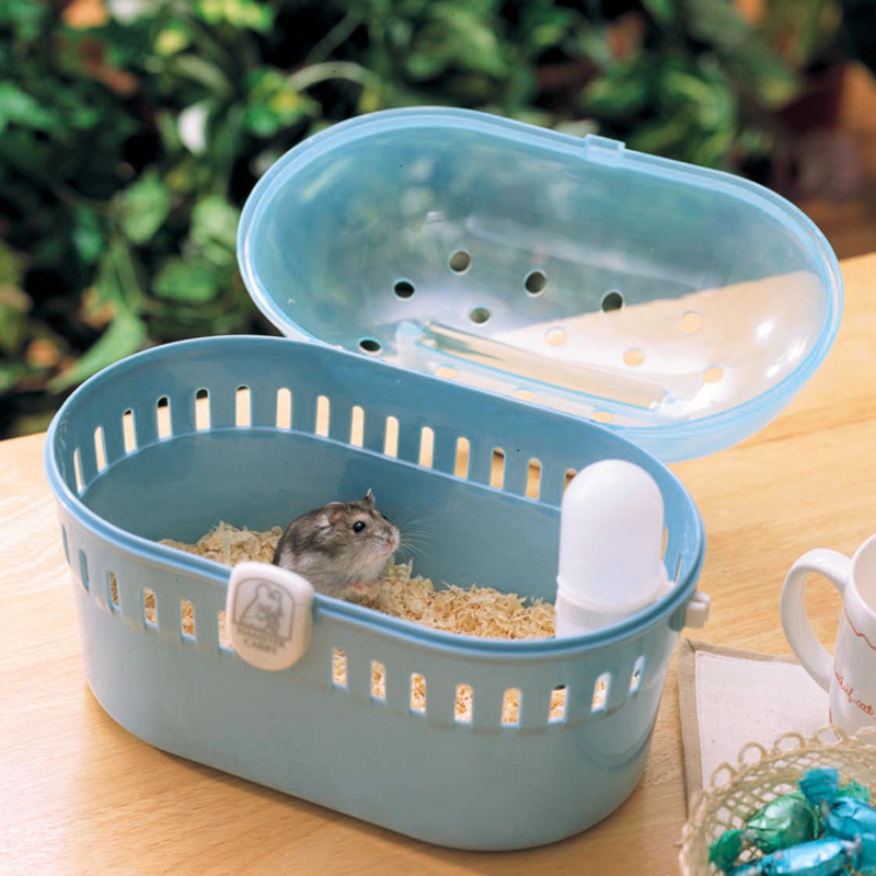 Pet Cage Hamster Cottage Portable Hamster Cage Small Animals Out Of The Box Travel Warm Bags Cages Guinea Pig Carry Bag