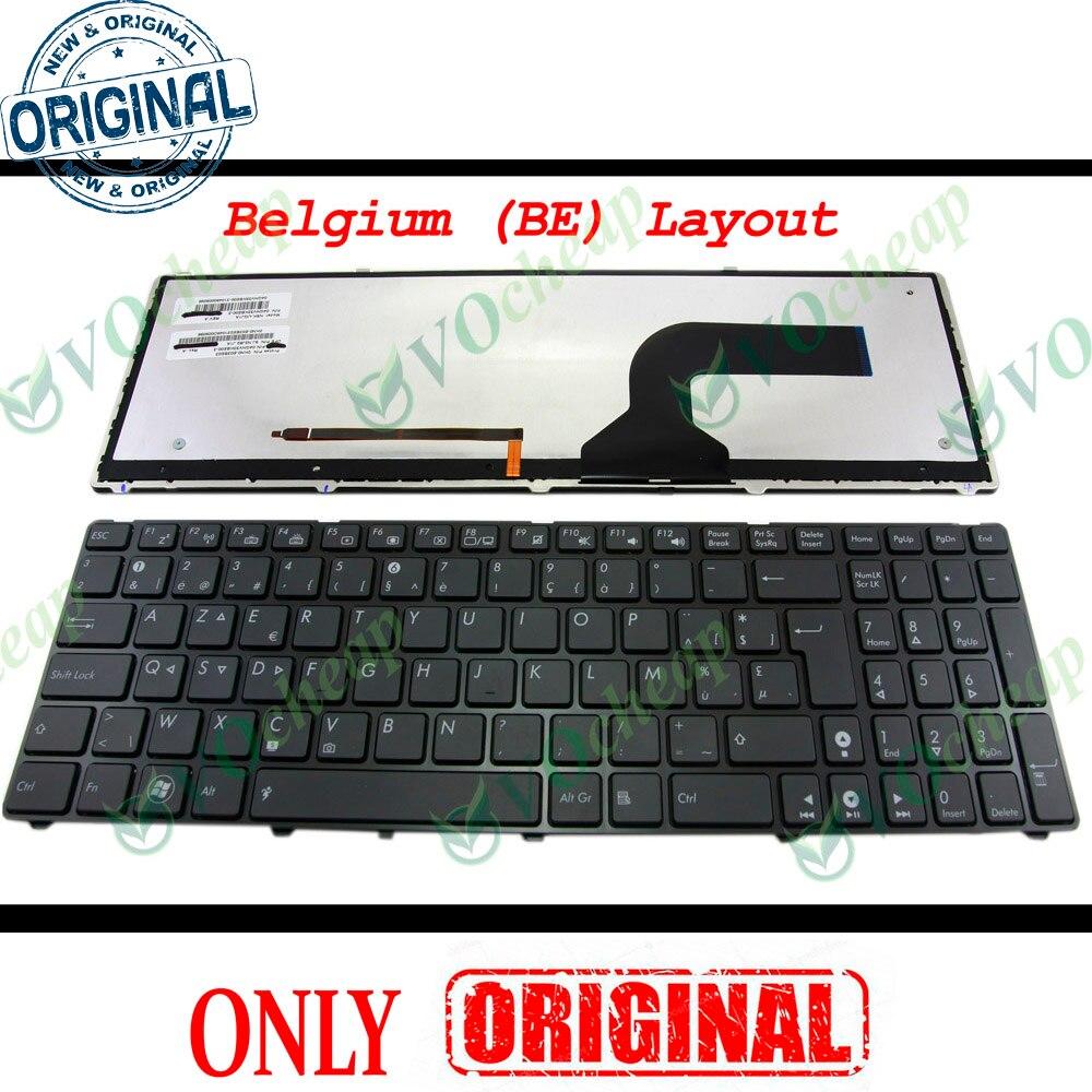 New Laptop Replacement Keyboard for ASUS G53 G60 G73 G52 K52 K53 X73 Series US Layout 04GNV33KUS00-3 04GNV32KUS00 04GN0K1KUS00-1 AENJ2U00020 Black Frame K52