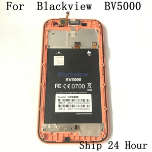 Image 2 - Original Blackview BV5000 Used LCD Display+Touch Screen+Receiver Speaker For Blackview BV5000 Smartphone Free shipping