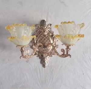 Image 5 - Led קיר אור זהב מנורות זכוכית מנורת קיר בציר האמבטיה קיר פמוטים שינה מיטת מנורות תאורה
