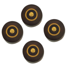 Brown Knobs Electric Guitar Knobs For  LP Style Electric Guitar