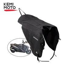 KEMiMOTO скутеры НОГИ КРЫШКА мотоцикл одеяло колено теплее Дождь Защита от ветра водонепроницаемый зимнее одеяло для BMW для YAMAHA