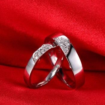 0.15ct/men 0.20ct/women18ct Gold Diamond Couple Set Rings Wedding Bands Engagement Rings for Men Women Free DHL Shipping