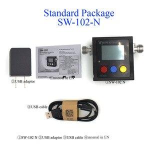 Image 5 - جديد SURECOM SW 102 متر 125 520 Mhz الرقمية VHF/UHF الطاقة و SWR متر SW102 لراديو اتجاهين