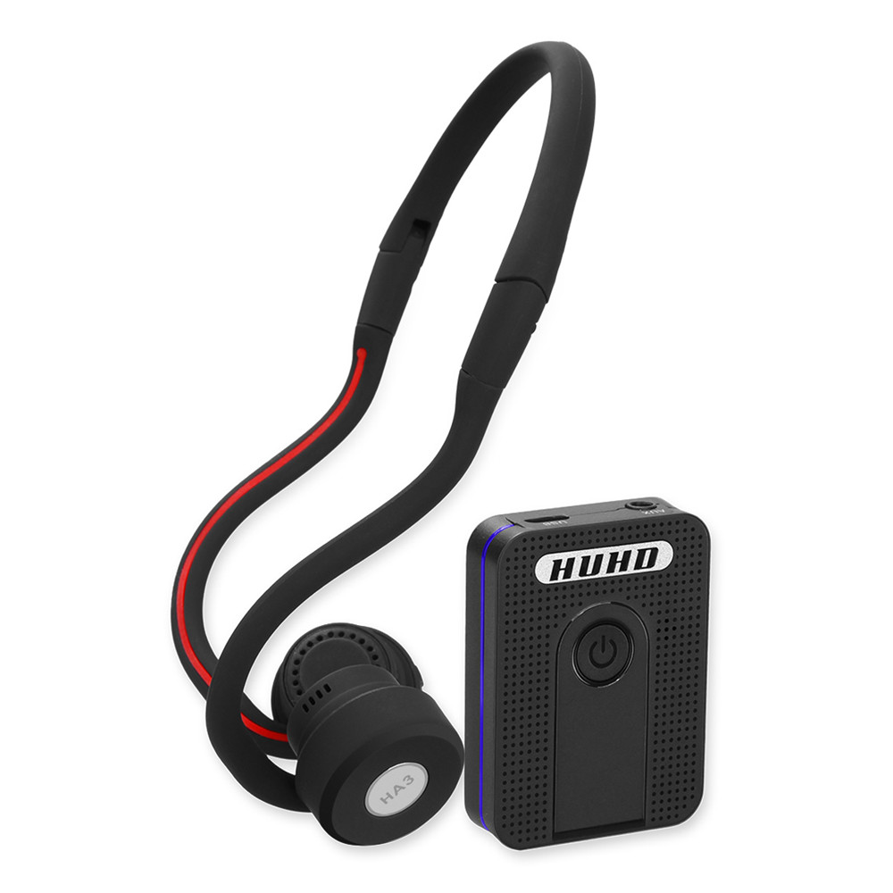 Auditivos sem Fio Amplificador de Condução Auditivo para os Idosos Auditivas para Idosos Aparelhos Bluetooth Óssea Aparelho Surdez Próteses Moderado