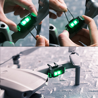 Ulanzi DR-02 Rechargeable Drone Light For DJI Mavic 2 Pro/air 2 Night Fly AntiCollision Strobe Lighting Drone Accessories