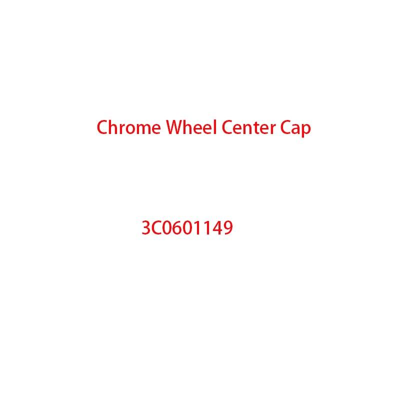 Новая хромированная Центральная крышка колеса 3C0601149 Крышка Ступицы