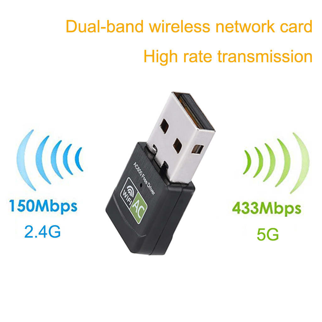 Network-Card Usb-Wifi-Adapter Signal-Boost Dual-Band Wireless 2 for Laptop/pc Network-router-extender/Signal-boost/-g20 title=