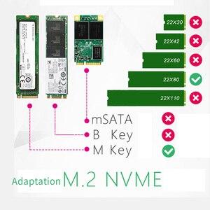 Image 2 - JEYI iهايبر m.2 X16 إلى 4X PCIE3.0 GEN3 X16 إلى 4 * بطاقة غارة PCI E VROC بطاقة غارة فرط M.2X16 M2X16 4X X4 رائد