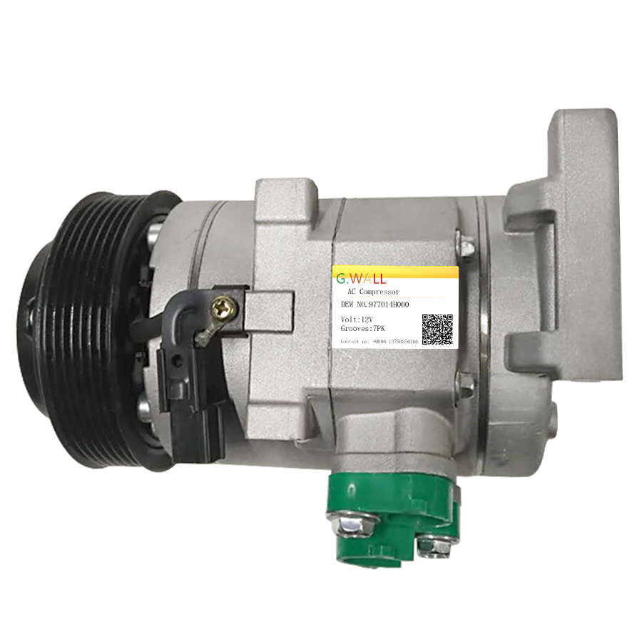 New HS20 Air Conditioner Compressor For Hyundai IMAX TQ 2 5 Diesel AC Compressor 977014H000 97701 4H000 in Air conditioning Installation from Automobiles Motorcycles